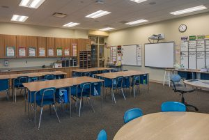 Classroom at MacArthur Elementary in Fort Leavenworth, KS