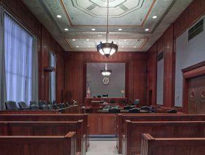 Inside a U.S. courtroom